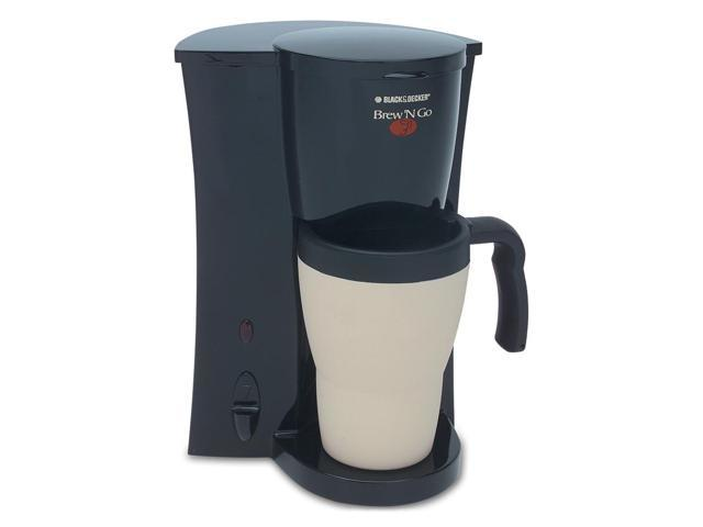 Black and Decker Brew 'n Go Personal Coffeemaker