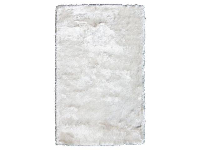 Crystal Area Rug In White - 8 ft. x 5 ft.