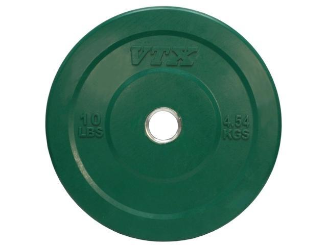 Olympic 2 in. Solid Bumper Plate with Steel Insert (10 lbs.)