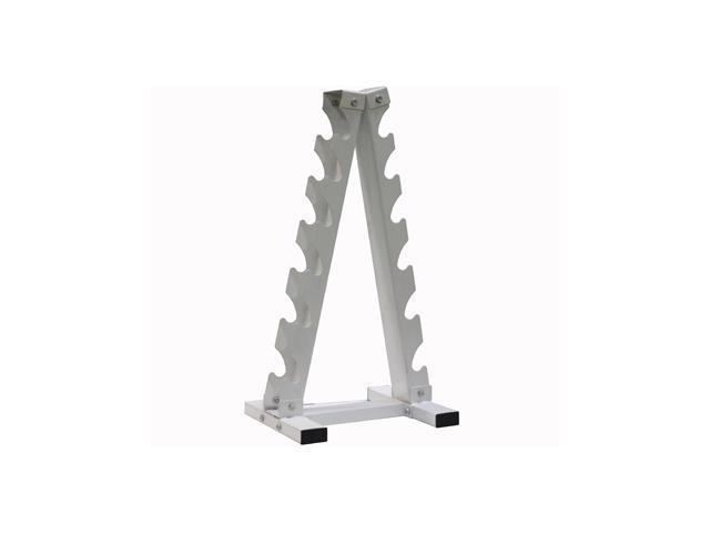 USA Sports A-Frame 6 Pair Dumbbell Rack