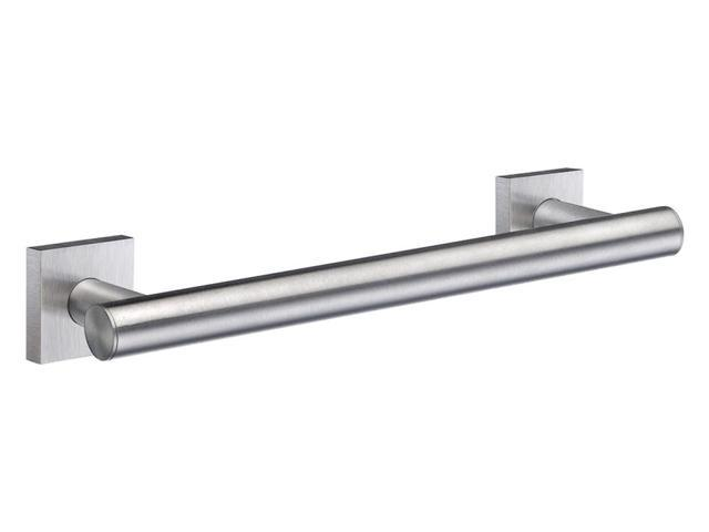 House Grab Bar in Brushed Chrome Finish