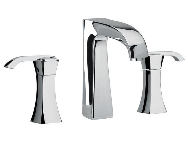 Jewel Faucets Two Lever Handle Widespread Lavatory Faucet (Chrome)