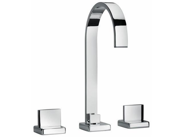 Jewel Faucets Two Lever Handle Widespread Lavatory Faucet (Antique Black)