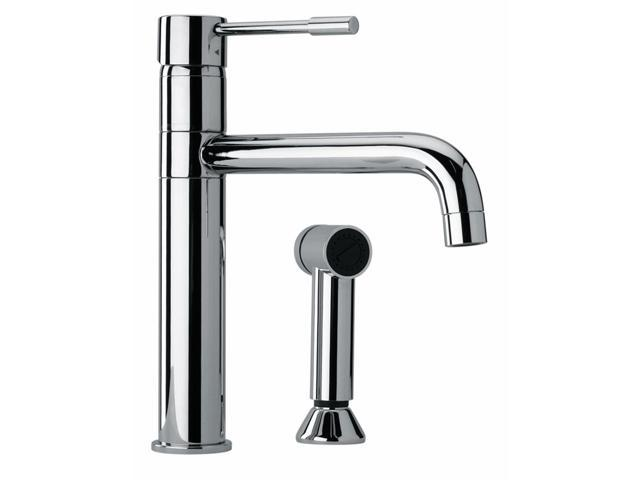 Jewel Faucets Modern Single Lever Handle Two Hole Kitchen Faucet w