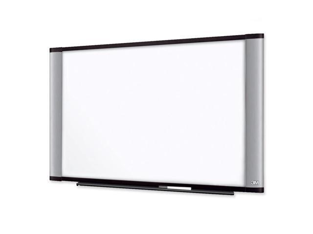 3M Dry-Erase Boards, Melamine, 8'X4', Aluminum Frame