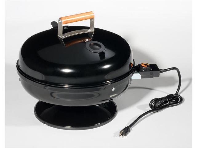 Travel Lock and Go Portable Electric Grill in Black