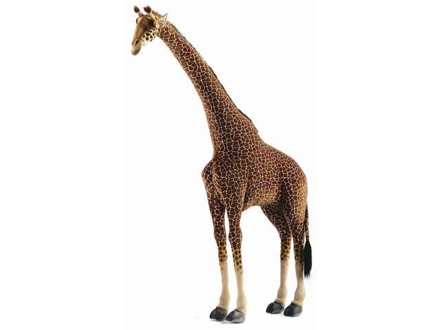 large life size standing giraffe plush stuffed animal. Black Bedroom Furniture Sets. Home Design Ideas