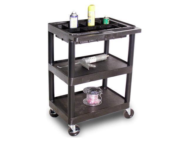 Utility Cart w 3 Shelves