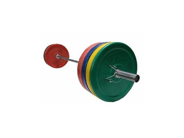 VTX 275 lb. Colored Bumper Weight Set