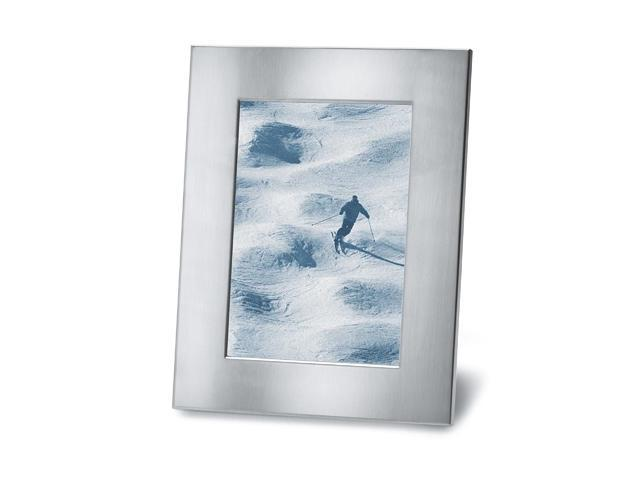 Framy Stainless Steel Picture Frame (5.3 in. L x 6.9 in. W)