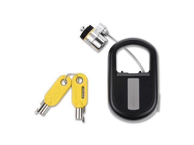 Kensington Notebook Lock, Retractable, 4' Steel Cable, Black