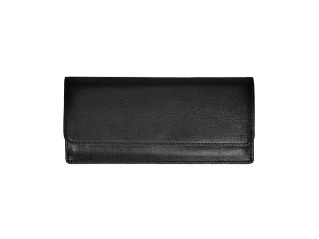 Royce Leather Freedom Wallet For Women, Black - RFTR-162-BK-2