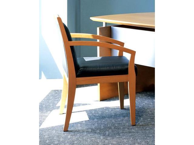Wood Guest Chair (Medium Cherry)