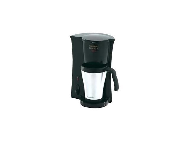 Melitta ME2TMB Black/Steel Inventives Dual Travel Mug Coffee Maker - Newegg.com