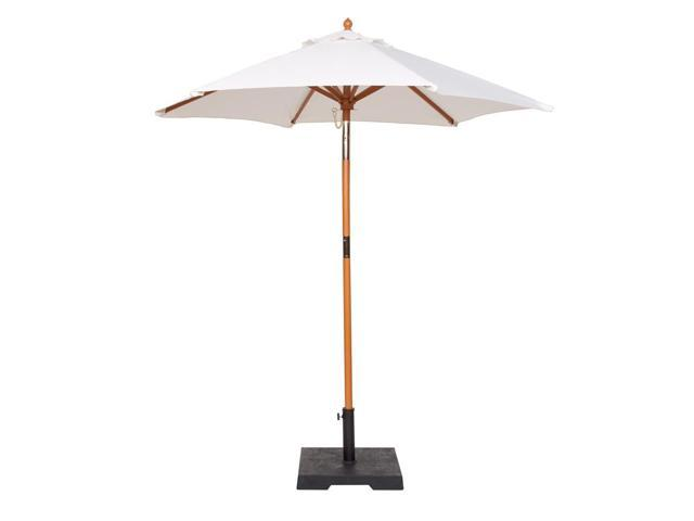 9 Foot Natural Market Umbrella