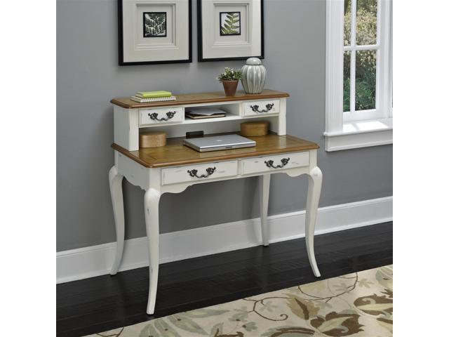 Home Styles 5530 162 Naples White Student Desk Amp Hutch