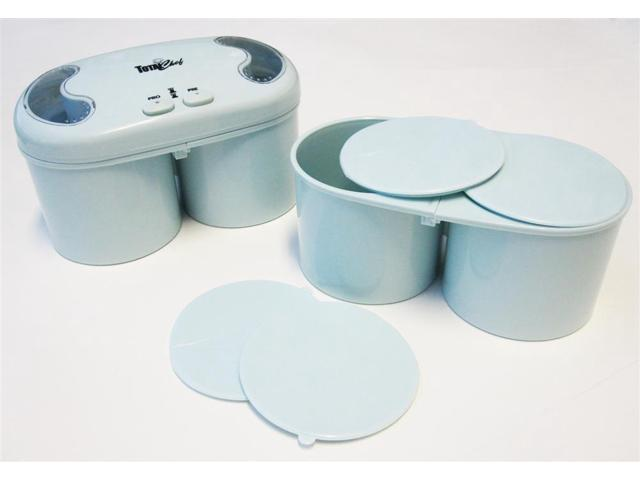 Deluxe Double Treat Ice Cream Maker - Blue