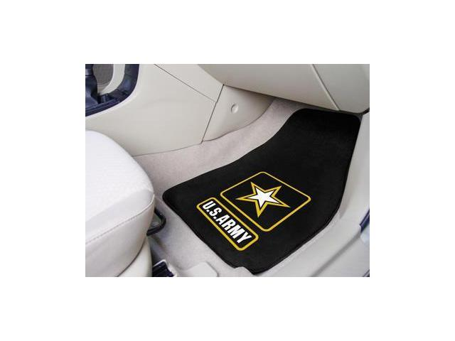 Army Carpeted Car Mats - Set of 2