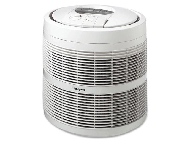 """Honeywell Air Purifier,3-Speeds,475 Sq Ft. Capacity,18""""X18""""X19-9/16"""",White"""