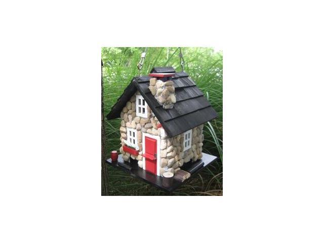 Home Bazaar Windy Ridge Feeder - Stone/Red/Black - CC-2025
