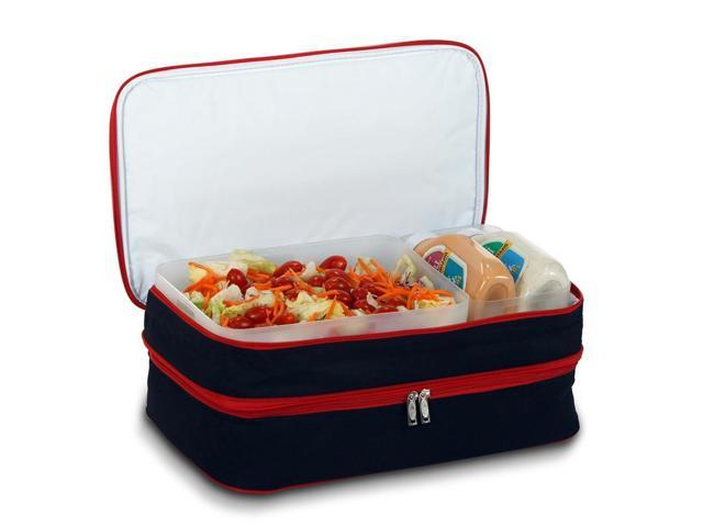 Entertainer Hot and Cold Food Carrier w Two Section