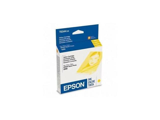 Epson Yellow Ink Cartridge - Inkjet - 440 Page - Yellow - 1