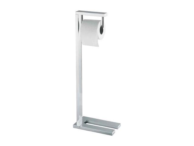 Toilet Single Paper Holder In Polished Chrome Finish