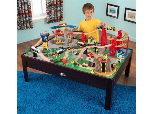 KidKraft Airport Express Train Set and Table - 17976 - Newegg.com