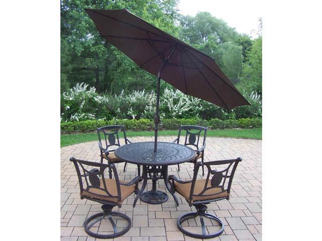 pc outdoor round dining set