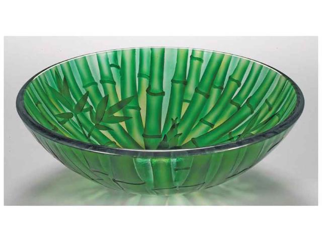 Green Vessel Sink : 16.5 in. Glass Vessel Sink in Green - Newegg.com