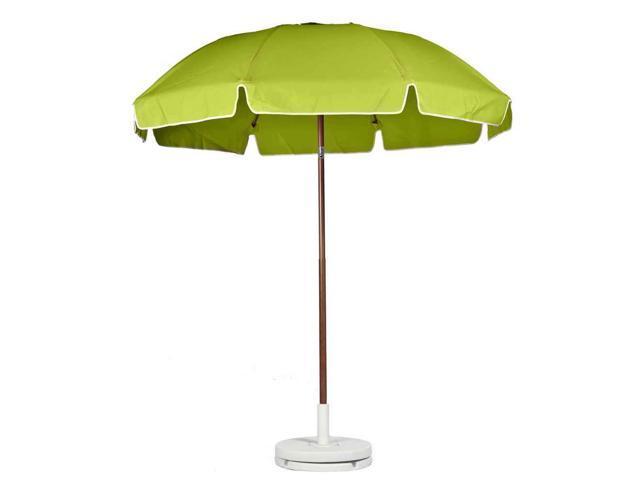 contemporary patio umbrella in pistachio newegg