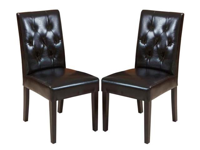 Christopher Knight Home Gentry 2 Piece Leather Dining