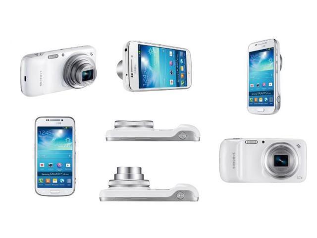 Samsung Galaxy S IV Zoom SM-C101 White - (Unlocked) GSM Smartphone