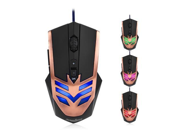 Perixx MX-1000 Copper Programmable Gaming Mouse