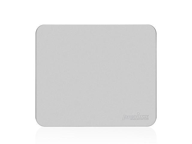 "Perixx DX-3000MA, Gaming Aluminum Mouse Pad - 9.84""x8.27""x0.08"" Dimension - Non-slip Rubber base - Micro Sand Blasting Aluminum ..."