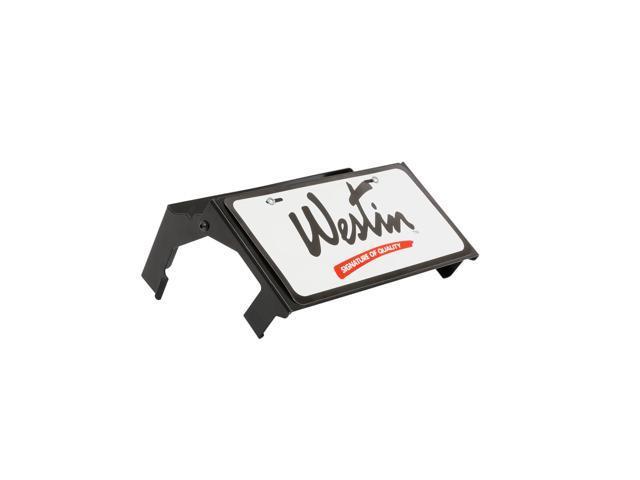 Westin 46-20055 Max Winch Tray License Plate Bracket