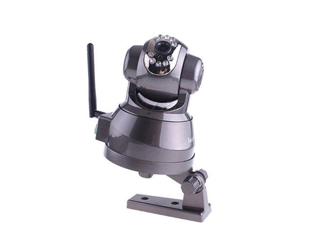 EasyN FS-613B-M166 Wireless Wired Pan & Tilt IP Camera with 15 Meter Night Vision and 3.6mm Lens (67° Viewing Angle) - Coffee ...