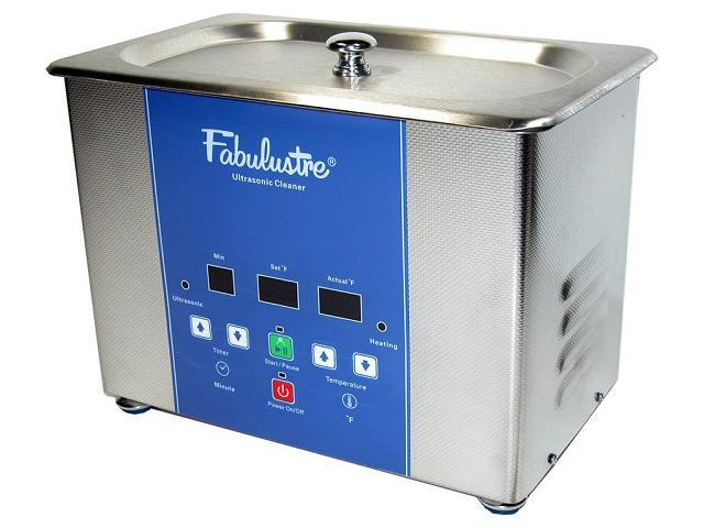 Fabulustre 2 Quart Heated Stainless Steel Ultrasonic Cleaner