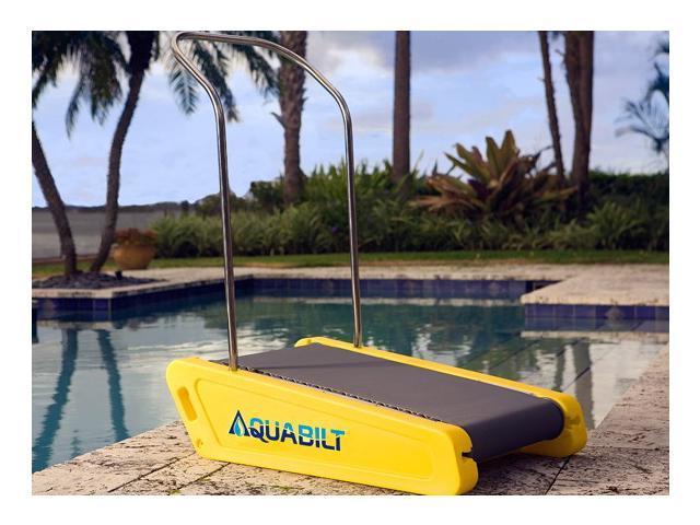 aquabilt a 2000 excercise swimming pool treadmill w removable handrail