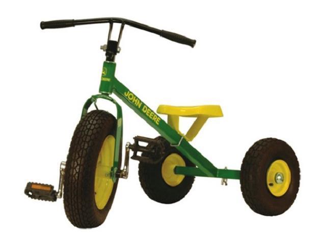 John Deere Mighty Trike >> Tomy John Deere Mighty Trike Pedal Childrens Ride On Toy-Newegg.com