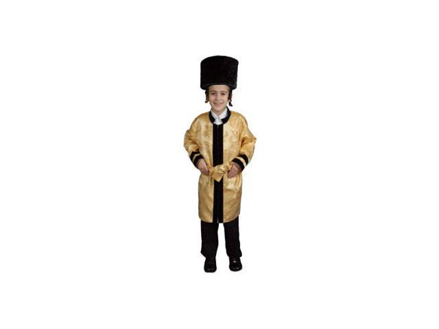 Jewish Grand Rabbi Robe Child Costume Size 4-6 Small