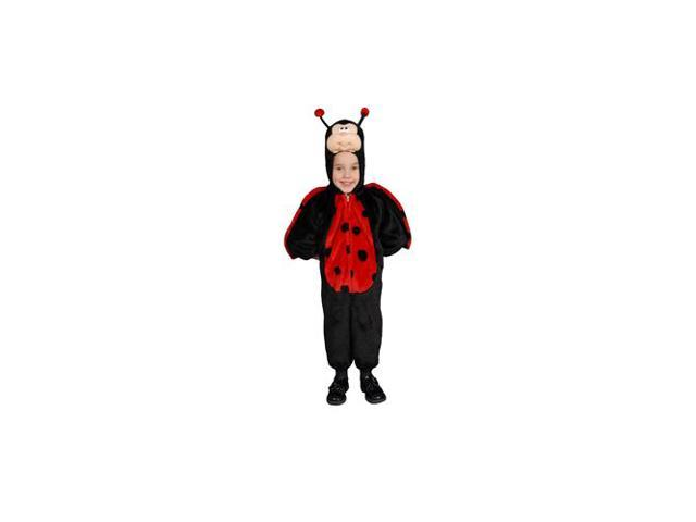 Cute Little Ladybug Child Costume Size 14