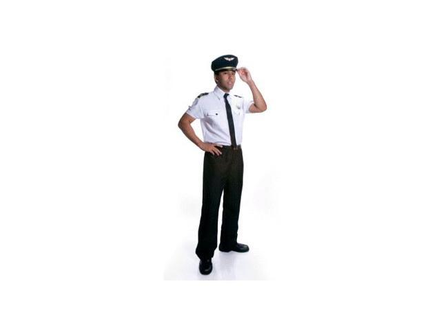 Airline Pilot Adult Costume Size Small