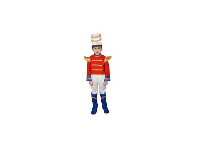 Pretend Toy Soldier Child Costume Dress-Up Set Size 8-10