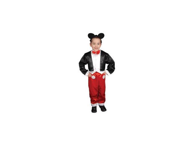 Pretend Deluxe Mr Mouse Child Costume Dress-Up Set Size 16-18