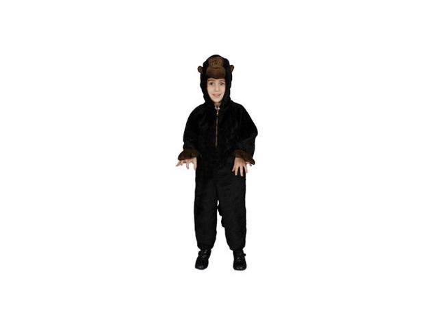 Kids Plush Gorilla Child Costume Size 2T Toddler