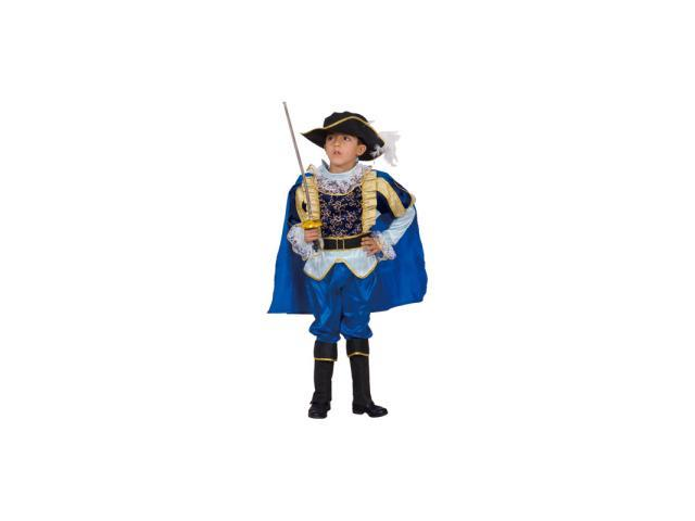 Noble Knight Child Costume Size 4-6 Small