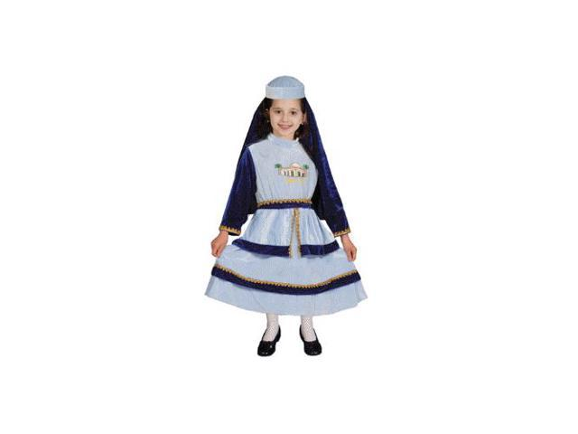 Jewish Mother Rachel Child Costume Size 4-6 Small