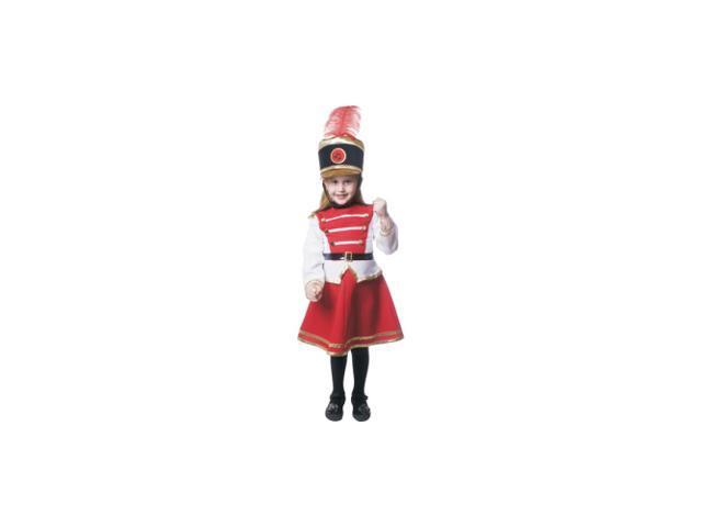 Drum Majorette Child Costume Size 8-10 Medium