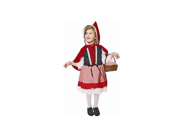 Lil' Red Riding Hood Toddler Costume Size T4